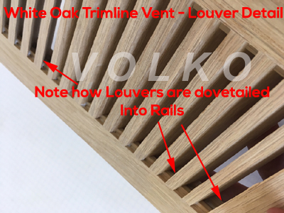 construction detail of wood vent