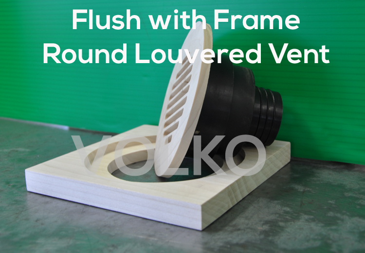 high velocity wood vent coupler