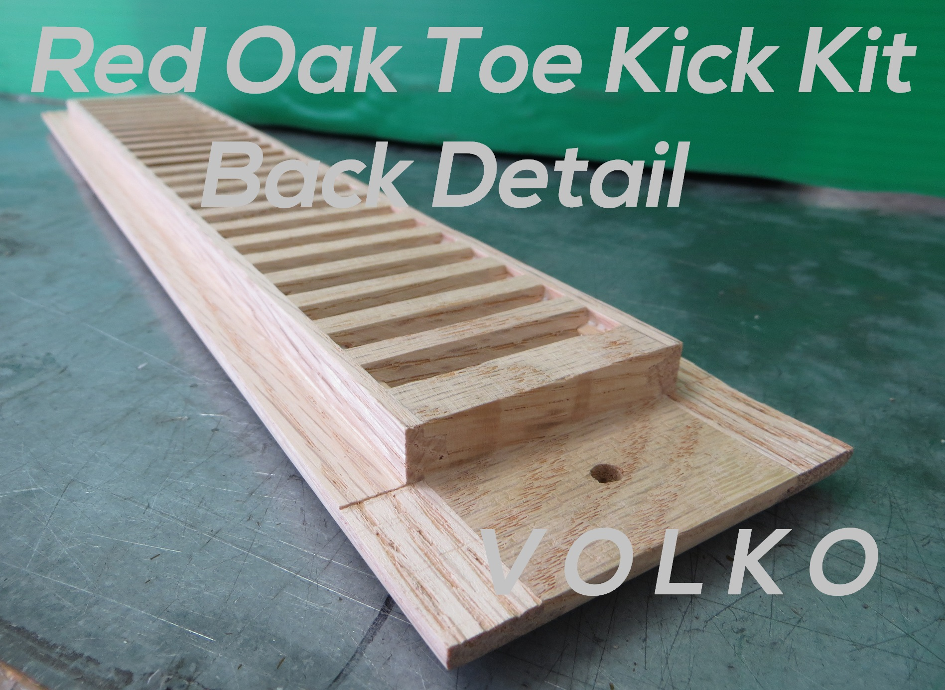 toe kick vent detail