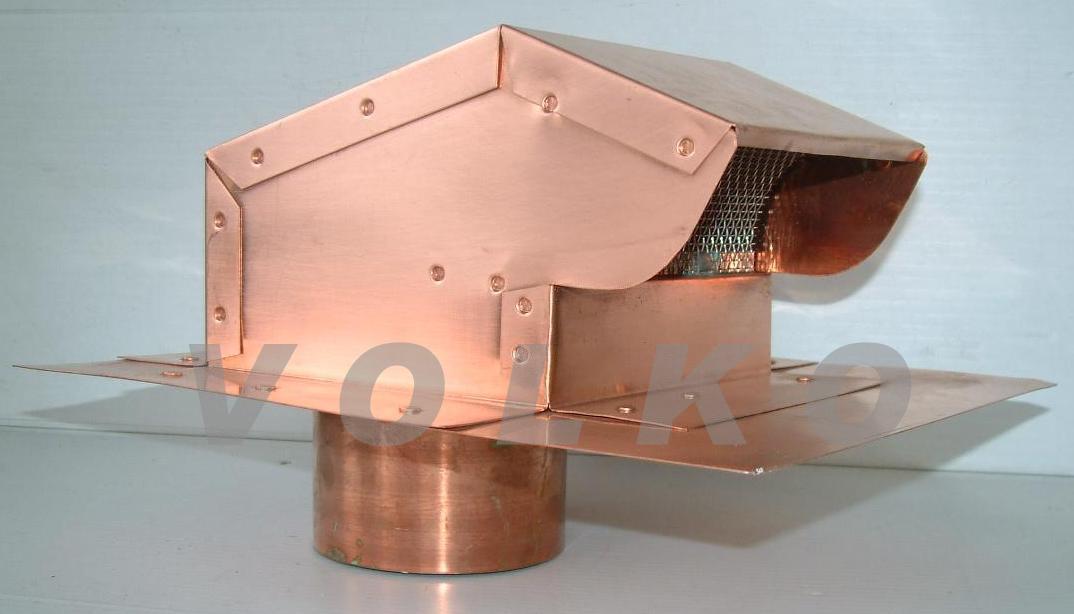 copper roof jack bathroom vent kitchen vent