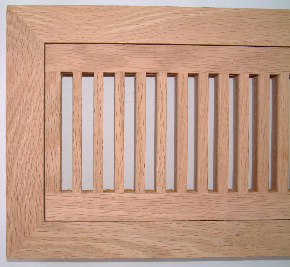 Volko Wood Floor Vents Air Grilles Registers Oak Hvac