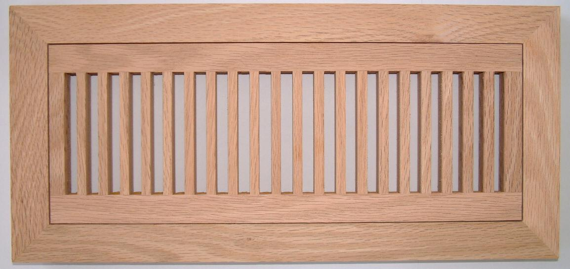 Volko Wood Floor Vents Air Grilles Registers Oak Hvac Heat Grates And Custom