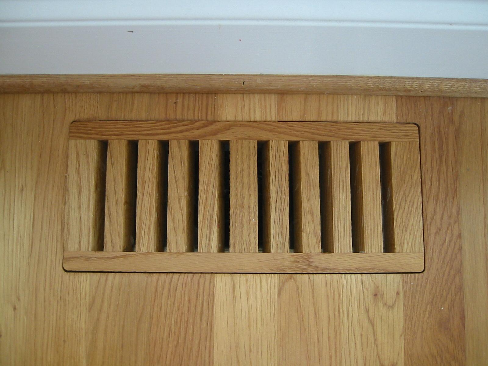 Volko Wood Floor Vents Air Grilles And Registers... Help Sizing Stock And  Custom Wood Vents.